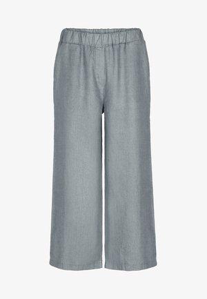 INES - Trousers - smoke blue