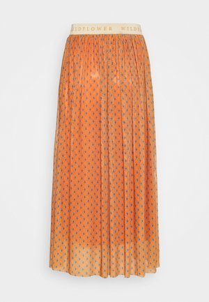 SKIRT  - A-line skjørt - sunset orange
