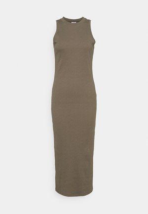 VMLAVENDER CALF DRESS  - Jersey dress - bungee cord