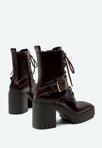 Uterqüe - Veterboots - brown - 4