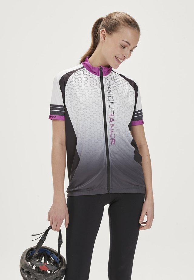 Cycling Jersey - purple/grey