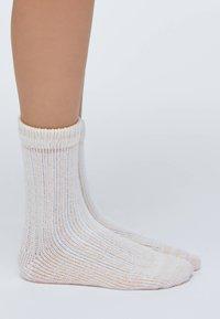 OYSHO - 2 PACK - Socks - light grey - 3