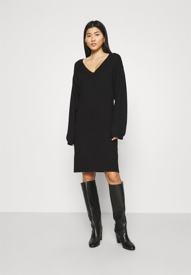 Zign - Jumper dress - black