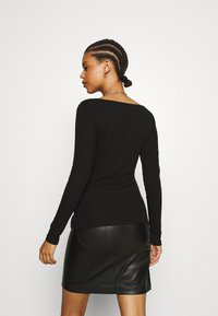 Even&Odd - Long sleeved top - black - 2