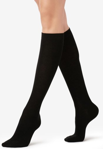 Knee high socks - Nero