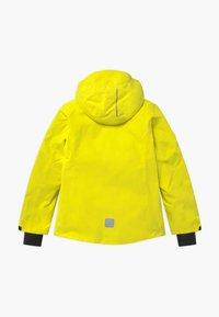 Reima - WINTER FROST UNISEX - Laskettelutakki - lemon yellow - 1