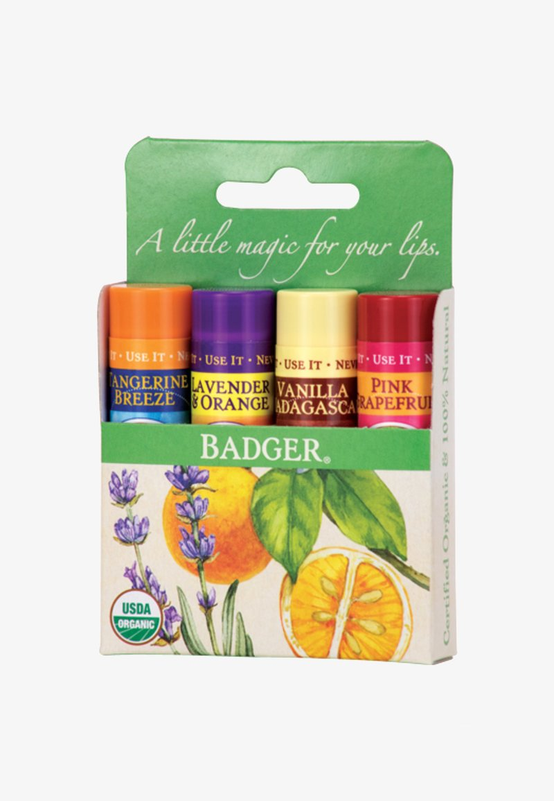 Badger - LIP BALM SET - Lip palette - green