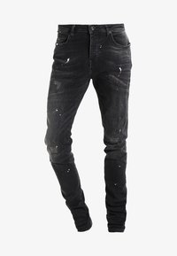 Cars Jeans - CAVIN - Slim fit jeans - black used - 5