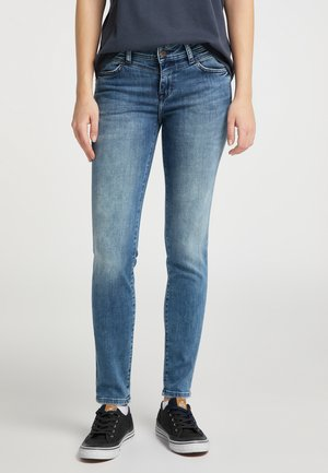 Jeggings - blau