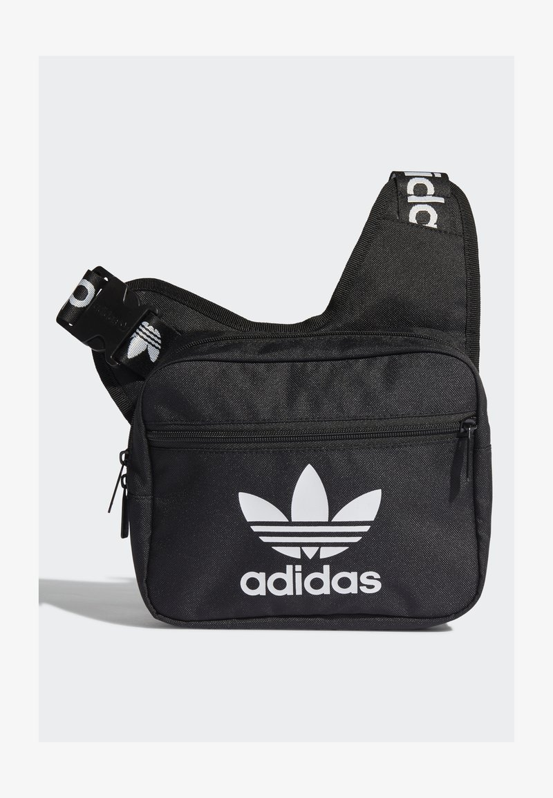 adidas Originals - SLING BAG UNISEX - Taška spříčným popruhem - black/white
