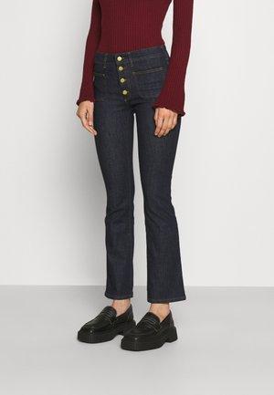 GAUCHO - Flared Jeans - dark rinse
