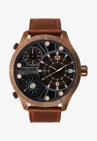 Police - BUSHMASTER - Watch - brown/gold - 1