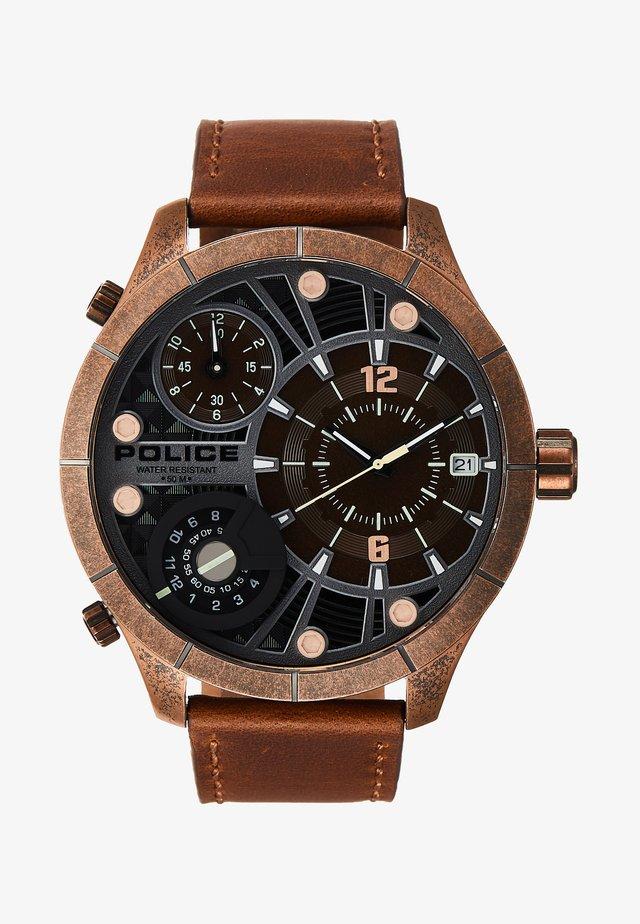 BUSHMASTER - Watch - brown/gold