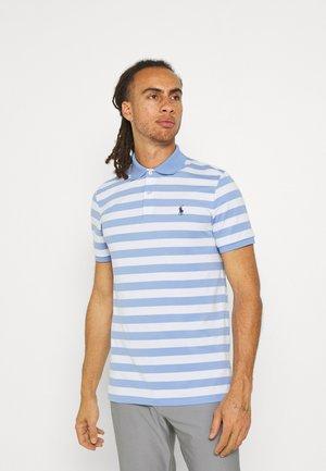 SHORT SLEEVE - T-shirt imprimé - blue lagoon/white