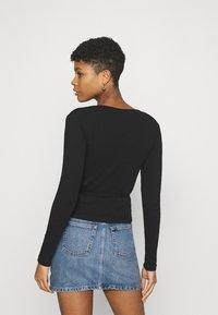 Envii - ENALLY TEE - Long sleeved top - black - 2