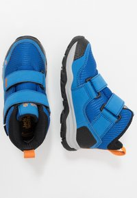 Jack Wolfskin - MTN ATTACK 3 TEXAPORE MID  - Hiking shoes - blue/orange - 0