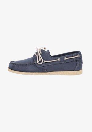 Buty żeglarskie - navy