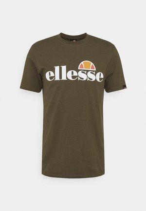 SMALL LOGO PRADO - T-shirt z nadrukiem - khaki