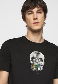 PS Paul Smith - MENS REGULAR  FIT SKULL - Print T-shirt - black - 4