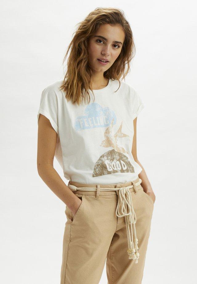 T-shirt z nadrukiem - nature