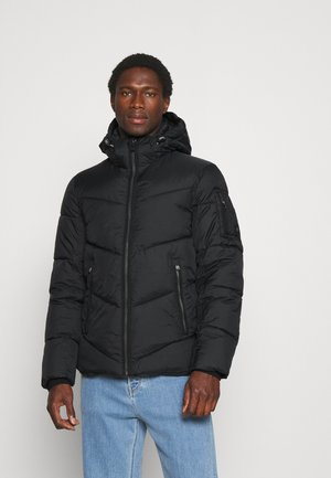 CASUAL PUFFER JACKET - Winter jacket - black