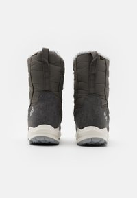 Jack Wolfskin - NEVADA TEXAPORE HIGH - Zimní obuv - dark grey/light grey - 2