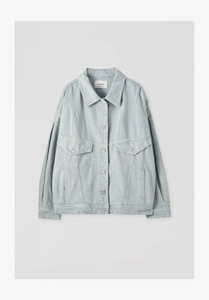 Veste en jean - light green
