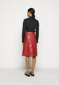STUDIO ID - FLORENCE MIDI SKIRT - A-line skirt - bruschetta - 2