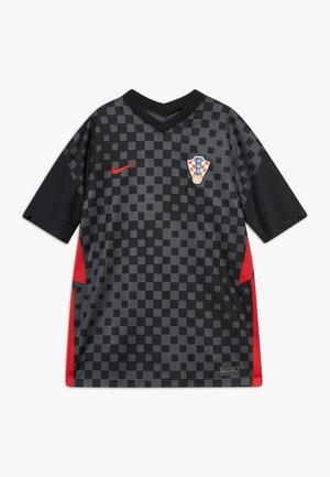 KROATIEN CRO Y NK BRT STAD SS AW - National team wear - anthracite/black/university red
