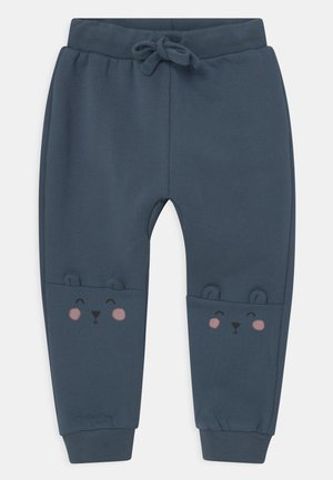 KNEE DETAIL UNISEX - Trousers - dusty blue