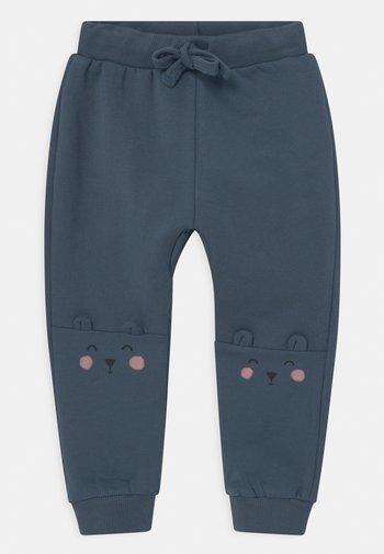 KNEE DETAIL UNISEX - Trousers - dusty blue