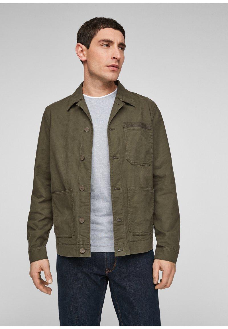s.Oliver - Summer jacket - green