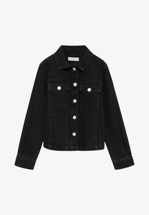 Veste en jean - black denim
