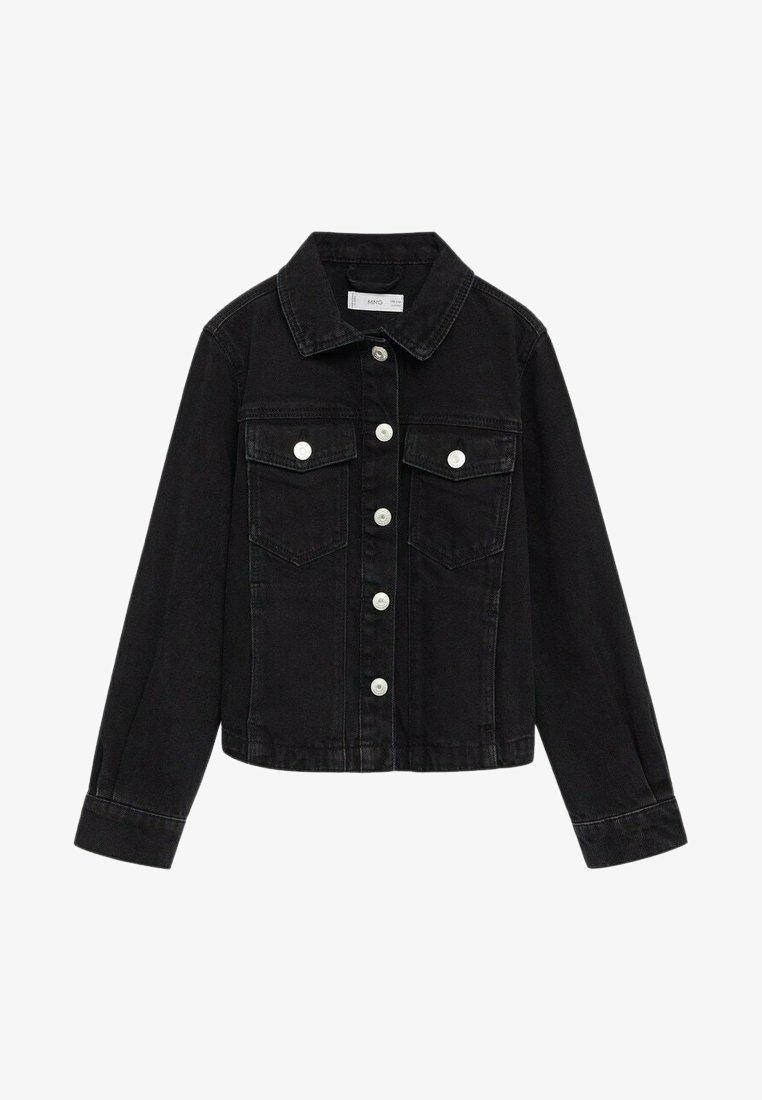 Mango - Denim jacket - black denim