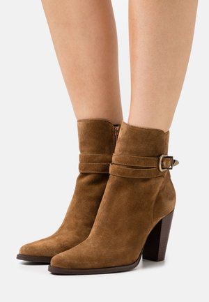 ALEN - Classic ankle boots - cannelle