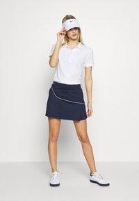 Lacoste Sport - CLASSIC SKIRT - Rokken - navy blue/white - 1