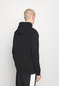 Nike Sportswear - Zip-up hoodie - black/ice silver/white - 2