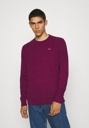 NEW ORIGINAL CREW - Sweater - plum caspia
