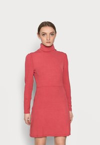 Glamorous Petite - LADIES DRESS - Jersey dress - burnt orange - 0