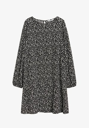 FLOR - Korte jurk - black