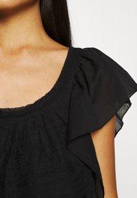 Free People - HAILEY MINI DRESS - Day dress - black - 6