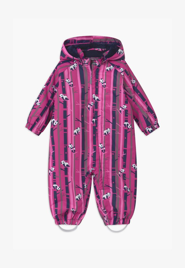 UNISEX - Snowsuit - rose violet