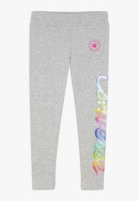 Converse - SCRIPT - Leggings - Trousers - dark grey heather - 0