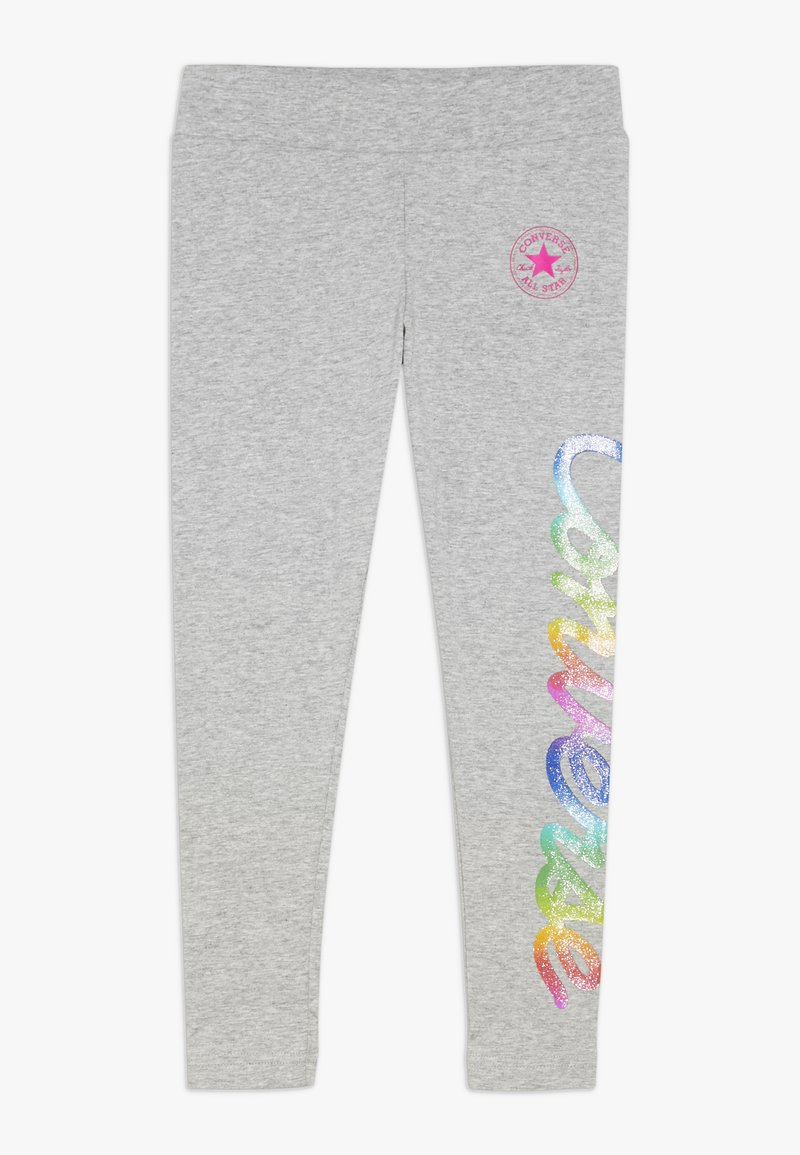Converse - SCRIPT - Leggings - Trousers - dark grey heather