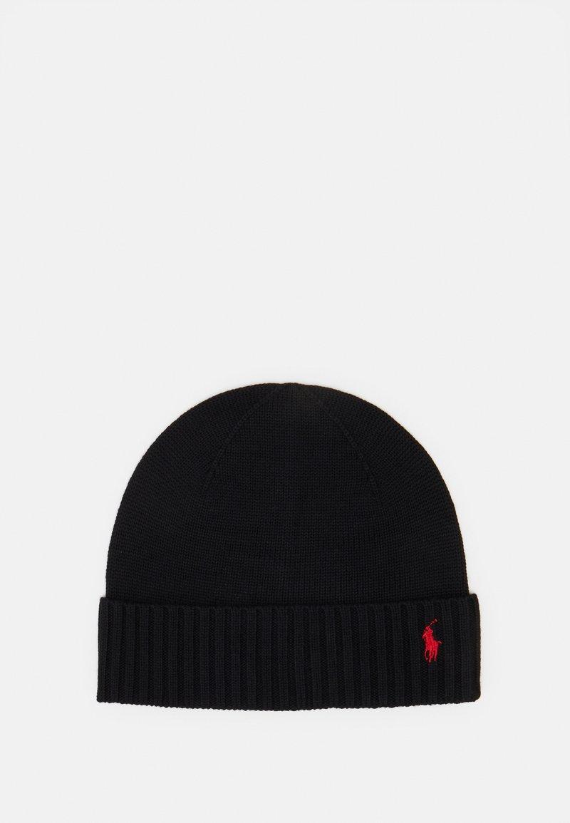 Polo Ralph Lauren - APPAREL ACCESSORIES HAT UNISEX - Beanie - black
