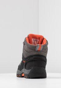 CMP - RIGEL MID SHOE WP UNISEX - Hiking shoes - stone/orange - 4
