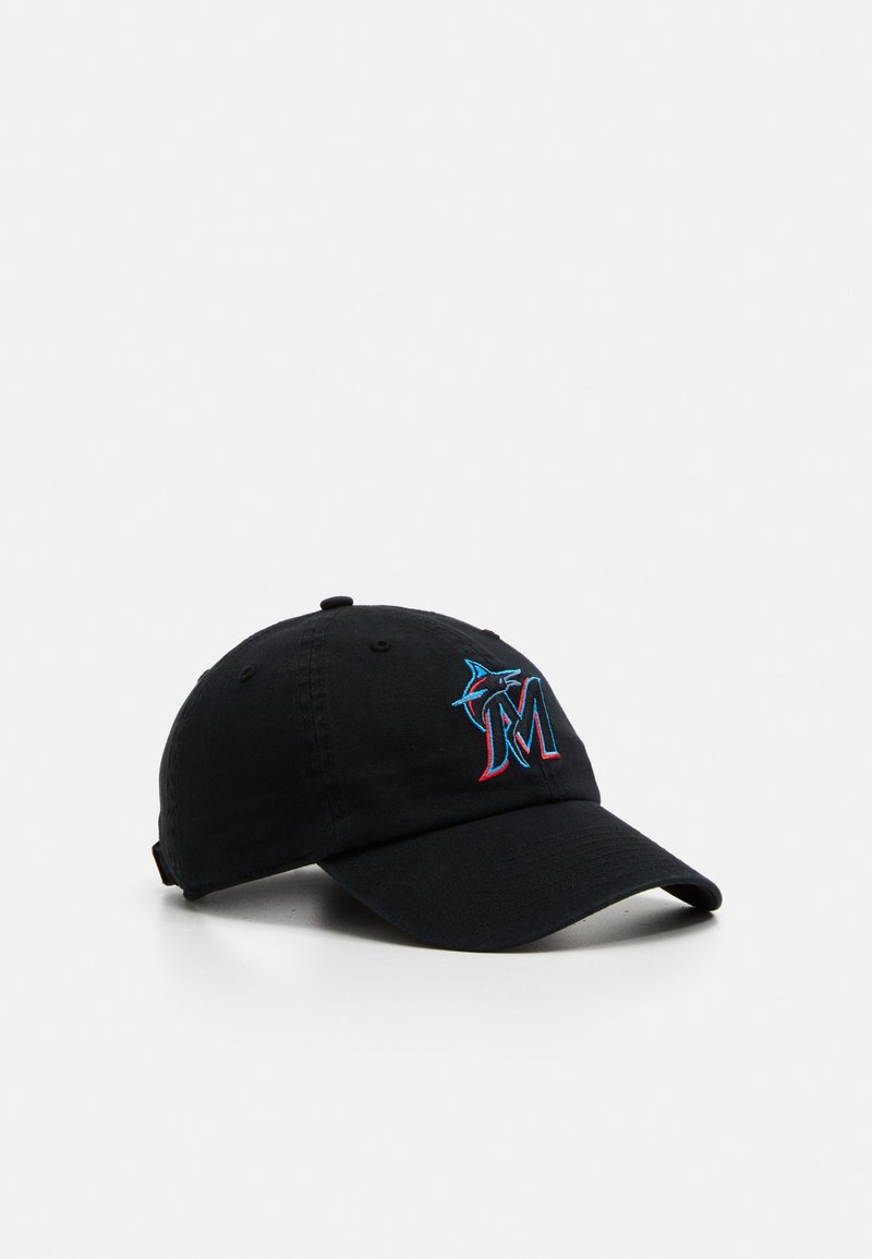 '47 - MIAMI MARLINS 47 CLEAN UP UNISEX - Cap - black