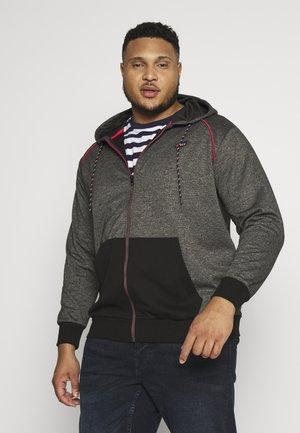 JCOCOLTS - Zip-up hoodie - pirate black/melange