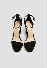 PULL&BEAR - Sandales à talons hauts - black - 2