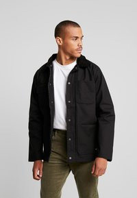 Vans - DRILL CHORE - Summer jacket - black - 0
